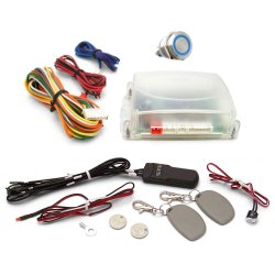 One Touch Engine Start Kit with RFID - Blue illuminated Button - Part Number: VPAHFS1002B