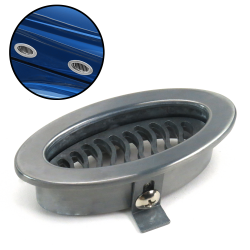 "Smoke Gray ""Swing Vent"" - AC / Heater Vent Or Body Panel Vent - Part Number: AUTBWAC2BK"