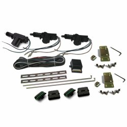 2007-2013 Jeep Wrangler Central Locking 2 Door + Tailgate System - Part Number: AUTCL2000JW07