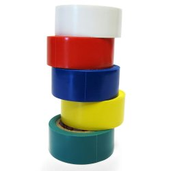 "5pk 12'x3/4"" Colored Electrical Tape - Part Number: JLMHPK41"