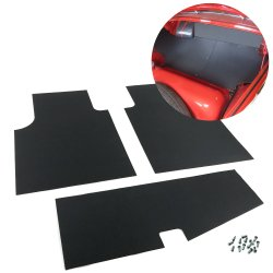 VW Volkswagen Bug 1952 - 1957 Oval Type 1 Trunk Liner Mat Kit - Part Number: VPAVWT2