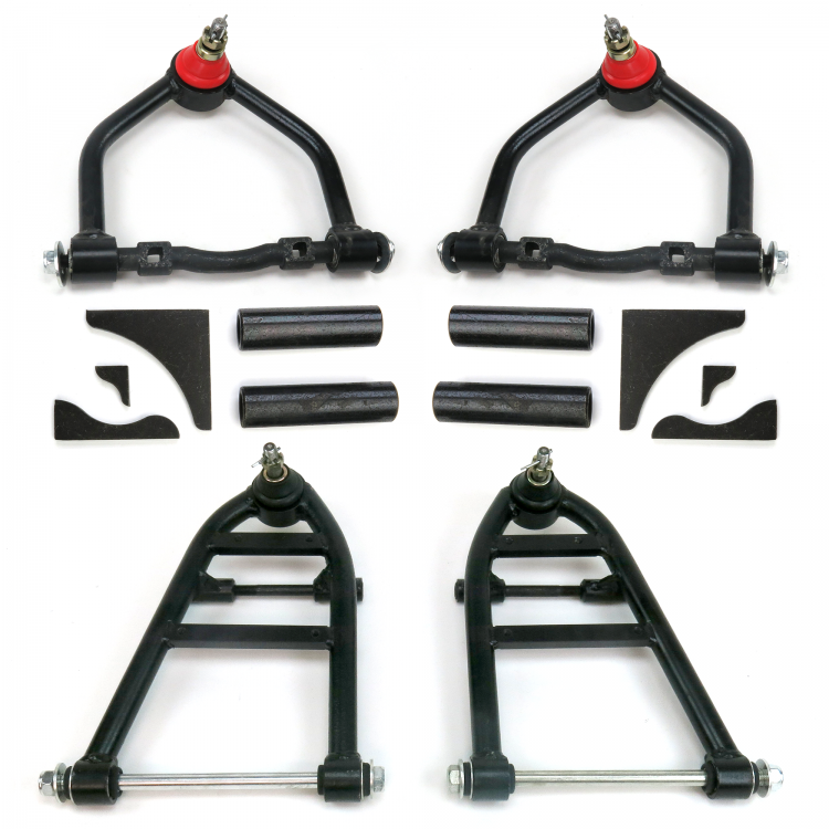 Mustang II Tubular Control Arm Set with Gussets