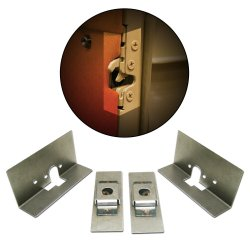 Small Bear Claw Door Latch Install Kit - Part Number: AUTBCINSTS