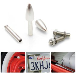 Bullet 2 Valve Cap, Door Plunger, Plate Bolt Combo Kit  - Part Number: VPAVK6SCH