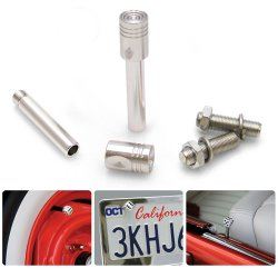 Piston 2 Valve Cap, Door Plunger, Plate Bolt Combo Kit - Part Number: VPAVK7SCH