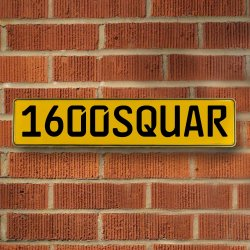 1600squar Automotive Vw Yellow Stamped Aluminum Street Sign Mancave Wall Art - Part Number: VPAY36C30