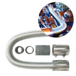 Stainless Steel Radiator Hose Kits - Part Number: 10015350