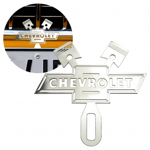 Chevrolet License Plate Topper