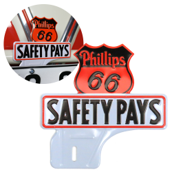Phillips 66 License Plate Topper - Part Number: VPALPT014