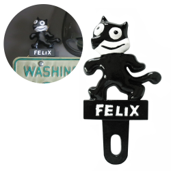 Felix The Cat License Plate Topper - Part Number: VPALPT003