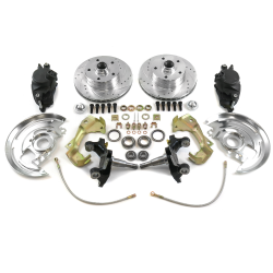 "64-72 Chevelle Front Disc Brake Conversion with 2"" Drop Spindles - Part Number: HEXBK36"