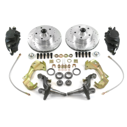 62-67 Nova/Chevy II Disc Brake Conversion with Stock Spindles - Part Number: HEXBK37
