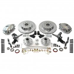 "Mustang II 13"" Big Brake Kit with 2"" Drop Pro Spindles - Part Number: HEXBK32"