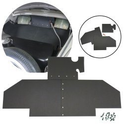 VW Bug 38-53 Split Type 1 Trunk Liner Mat Kit - Part Number: VPAVWT1