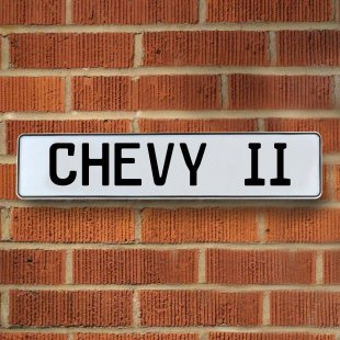 Chevy II Street Signs