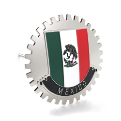 "UltraEmblem ""'Mexico"" Grill Emblem Badge - Part Number: AUTFGE06"