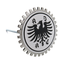 ADAC Grille Emblem Badge w/ Bracket for Porsche BMW VW Mercedes Benz and more! - Part Number: AUTFGE10