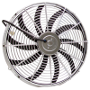Chrome S-Blade Radiator Cooling Fans - Part Number: 10015463