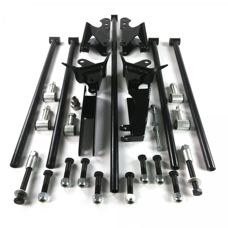 Parallel 4 Link Kit with 2600 lb Air Bags & Brackets