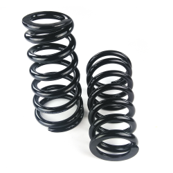 "Tapered Coil Over Spring Set for GM - 10"" 500lb 2.5"" ID Flat x 4.1"" ID Flat - Part Number: HEXSPRTC10F"