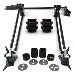 Parallel 4 Link Kit with 2600 lb Air Bags & Brackets - Part Number: HEXTTK2AIR