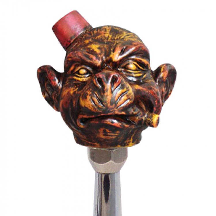 The Boss Monkey Custom Shift Knob | johnnylawmotors com