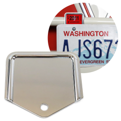 Universal License Plate Inspection Expiration Sticker Plate - Renewal Year Tag - Part Number: VPALPT023
