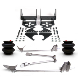 Triangulated 4 Link Kit with 2600 lb Air Bags & Brackets - Part Number: HEXTTK4AIRB