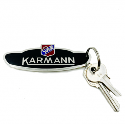 Volkswagen Karmann Ghia VW KeyChain - Part Number: VPAKCA8