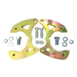 1958-1970 Chevy Full Size Brake Caliper Brackets for use with Drop Spindles - Part Number: HEXCB13