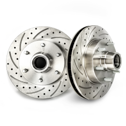 5-Bolt Pattern Helix 16255 WaveStop 11 Drilled and Slotted Rotor