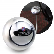 VW Karmann Ghia Crest Billet Gear Shift Knob M12 M7 for Volkswagen Sedan & Vert - Part Number: LABSN1R