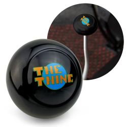 "VW ""The Thing"" Black Gear Shift Knob M10 for VW Safari Acapoco Thing - Part Number: LABSN4Q"