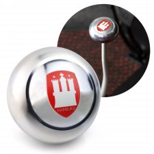Hamburg Gear Shift Knob M12 & M7 VW Bus Beetle Ghia Thing Split Oval Kafer - Part Number: LABSN1C