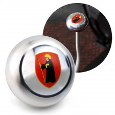 Coat of Arms Glarus Gear Shift Knob M12 & M7 VW Bus Beetle Ghia Thing Split  - Part Number: LABSN1O