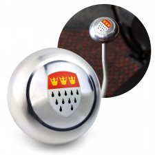 Cologne Gear Shift Knob M12 & M7 VW Bus Beetle Ghia Thing Split Oval Kafer - Part Number: LABSN1K