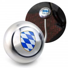 Coat of Arms Bavaria Gear Shift Knob M12 & M7 VW Bus Beetle Ghia Thing Split  - Part Number: LABSN1M