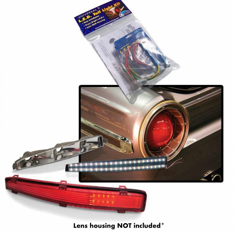 Keep It Clean 10767 LED Tail Light Kit 1960-1966 Chevy Suburban LED Tail Light Kit