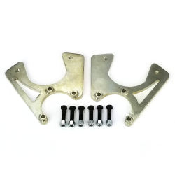 GM 10/12 Bolt Rear Brake Caliper Brackets (Pair)  - Part Number: HEXCB18