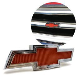 1967 - 1968 Chevrolet Truck Bowtie Grille Emblem Chevy c10 - Each - Part Number: VPAE50