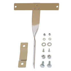 "Oval D Plate ""T"" Style Mounting Bracket - Part Number: VPALPB1"