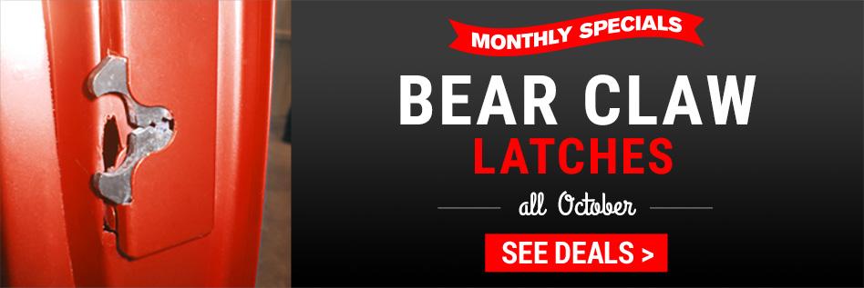 Bear Claw Latches