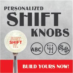 Personalized Shift Knobs