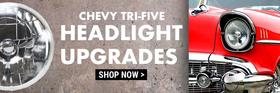 Chevy Trifive Headlight Upgrade